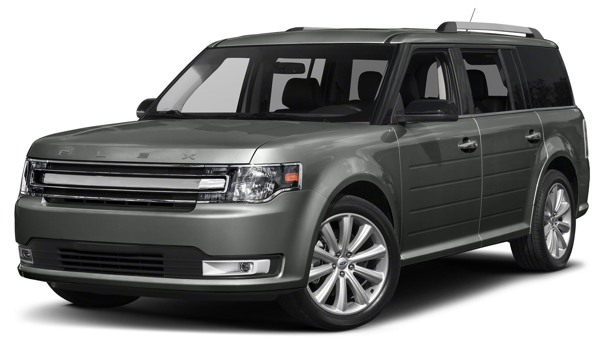 2017 Ford Flex SEL Ford Flex is the modern way to move With bold lettering on the hood futuristi