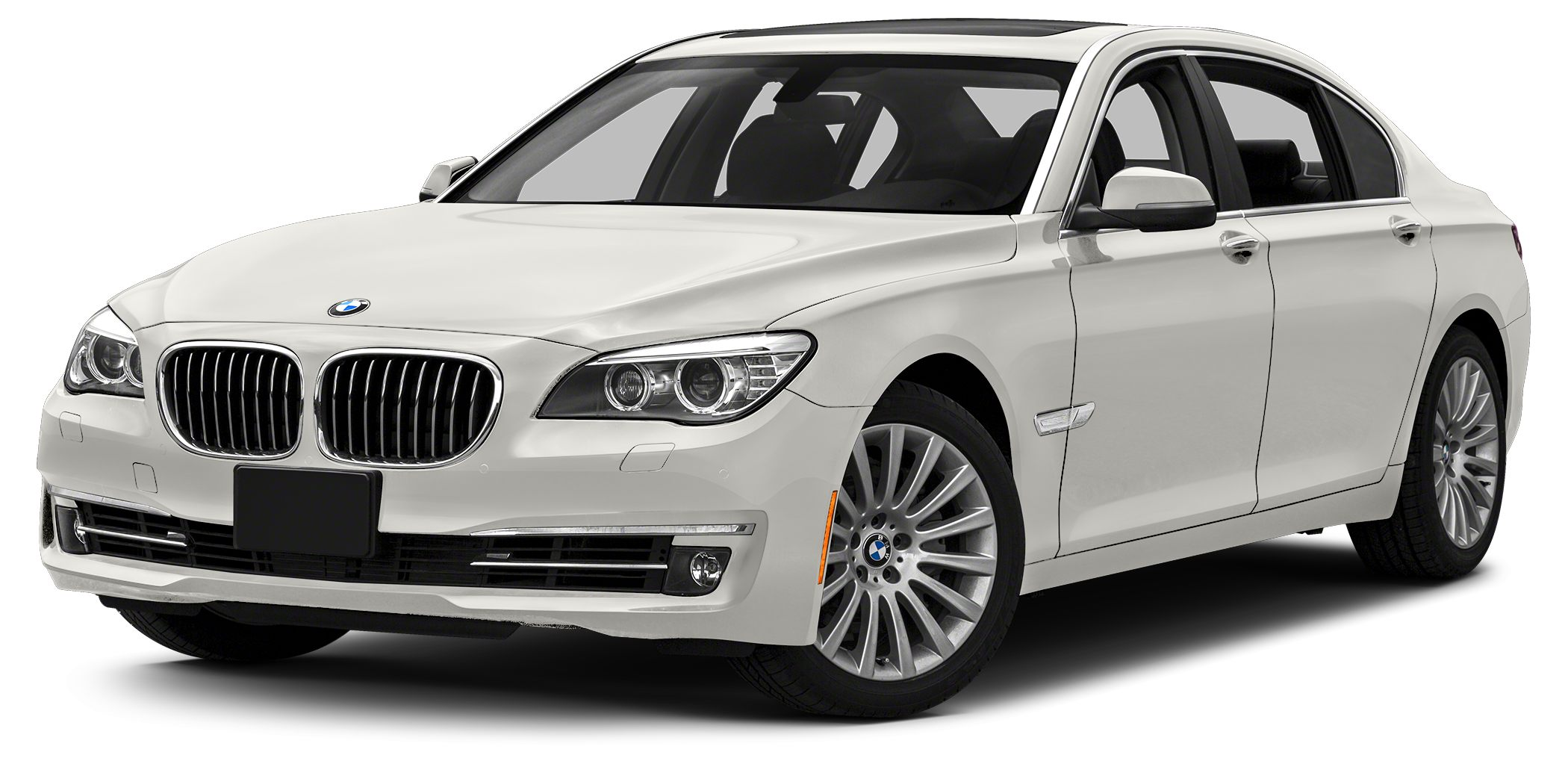 2013 BMW 7 Series 740i Haggle Free Price White with upgraded leather Sport Package M sport M s