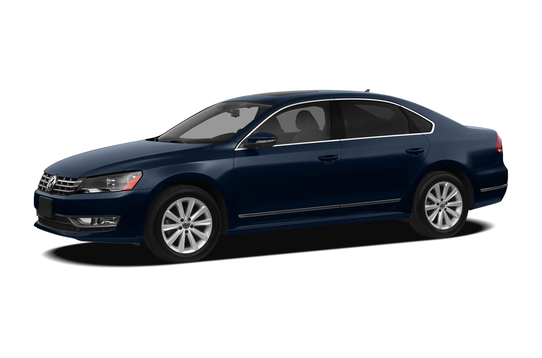 2012 Volkswagen Passat 25 SE LOADEDLEATHERHEATED SEATS SE Package clean NON-SMOKER very well ke