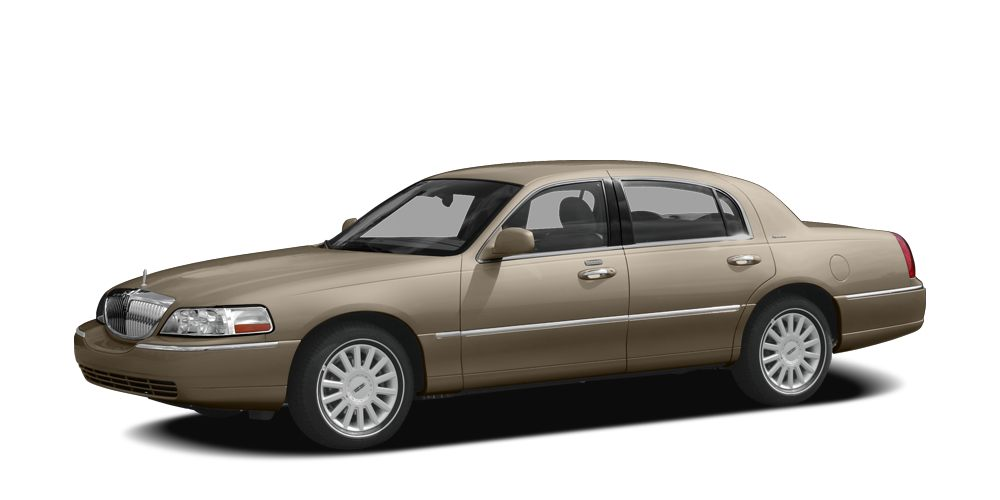 2007 Lincoln Town Car Signature LOCAL TRADE LEATHER 17 12-Spoke Machined Aluminum Wheels AB