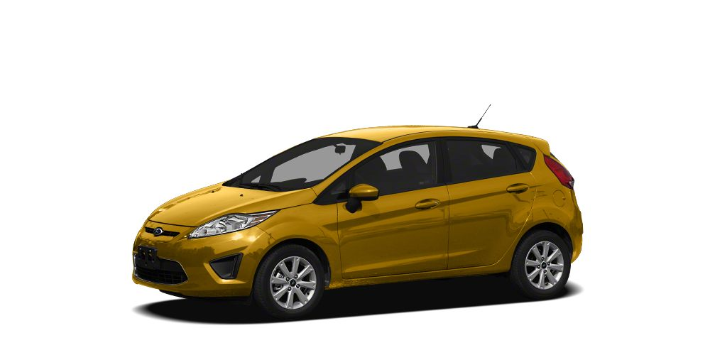 2011 Ford Fiesta SES ONLY 56696 Miles EPA 38 MPG Hwy29 MPG City Moonroof Heated Leather Seats