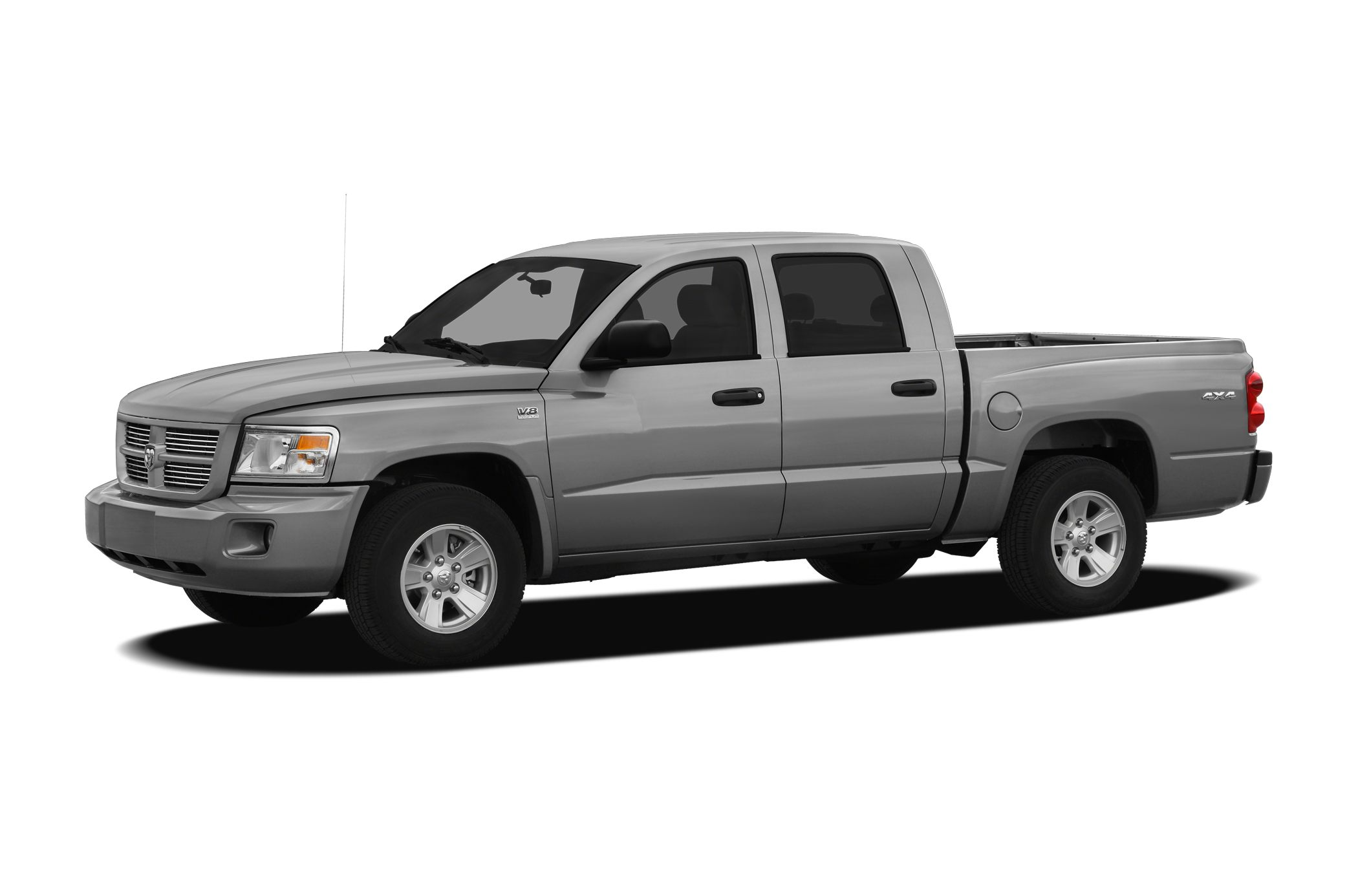 2009 Dodge Dakota Big HornLone Star 4D Crew Cab 47L V8 5-Speed Automatic and 4WD Short Bed
