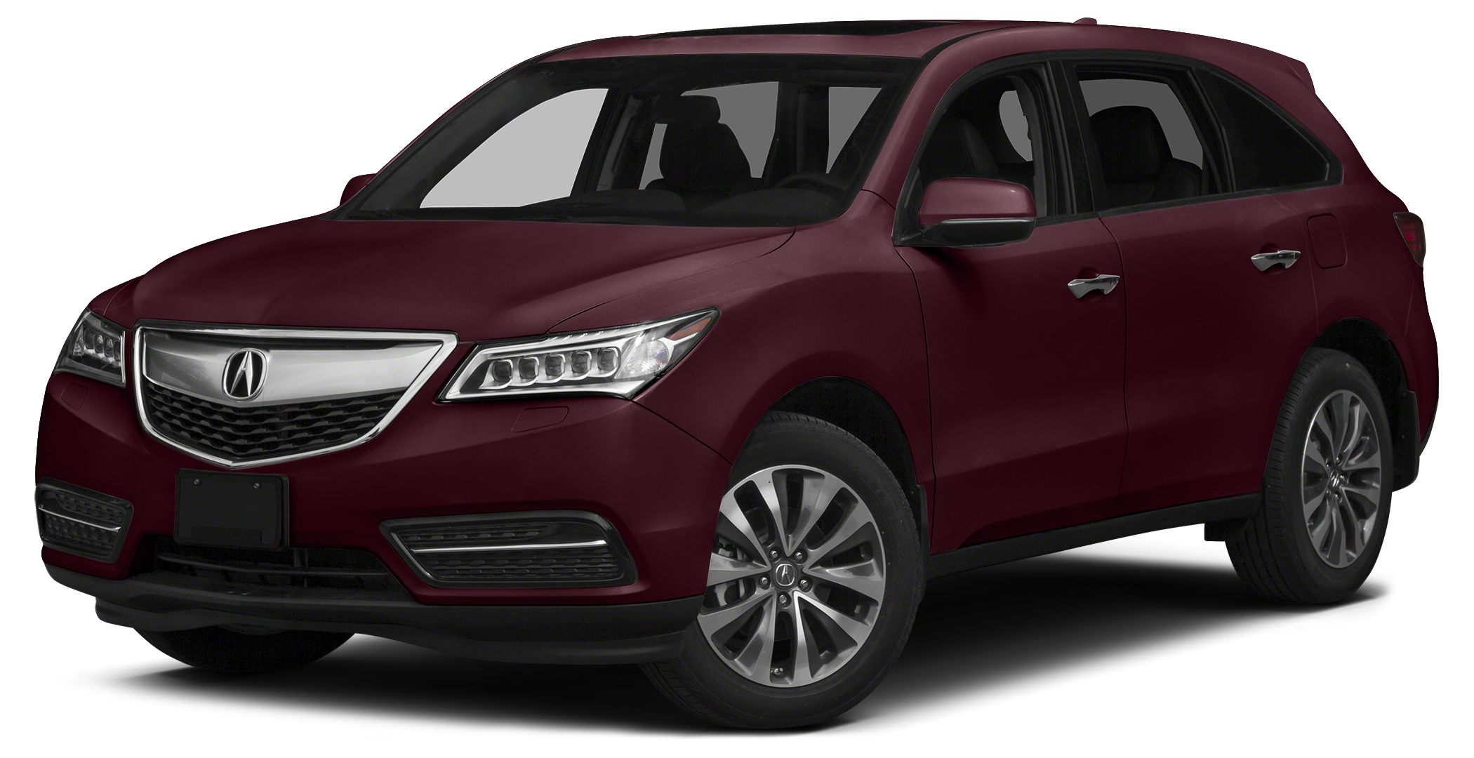 2014 Acura MDX 35 Technology w Entertainment Miles 16559Color Red Stock A3862P VIN 5FRYD4H