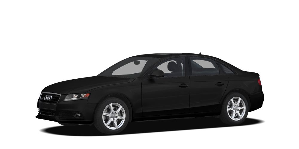 2009 Audi A4 20T quattro Premium Navigation AWD Brilliant Black on Black Heated Leather Premi