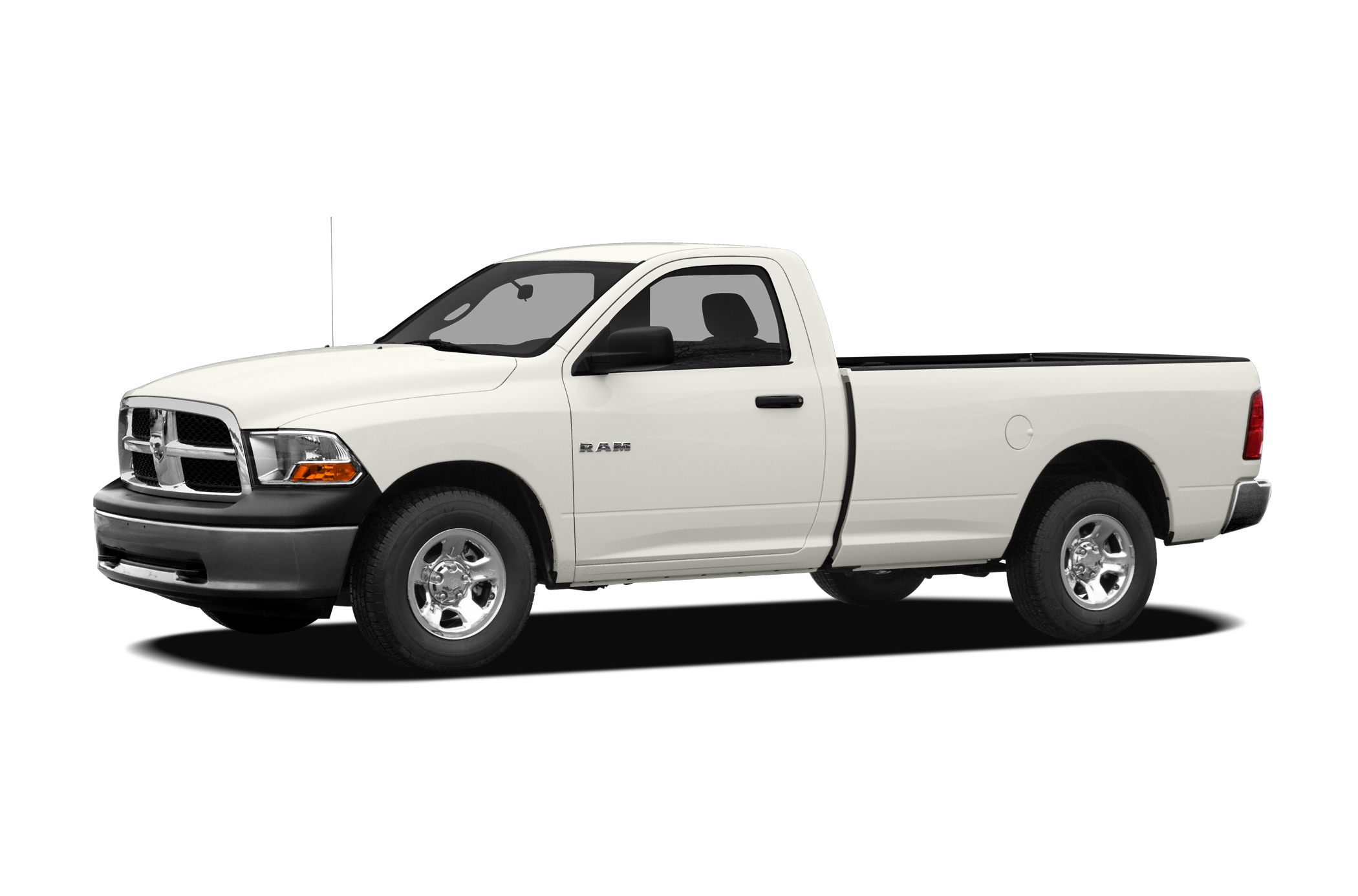 2011 Dodge Ram 1500 ST Miles 45366Color Bright White Stock FH2302B VIN 3D7JB1EK7BG537614