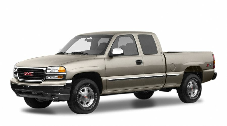 2001 GMC Sierra 1500  Extended Cab Vortec 48L V8 SFI 4-Speed Automatic with Overdrive RWD Dar