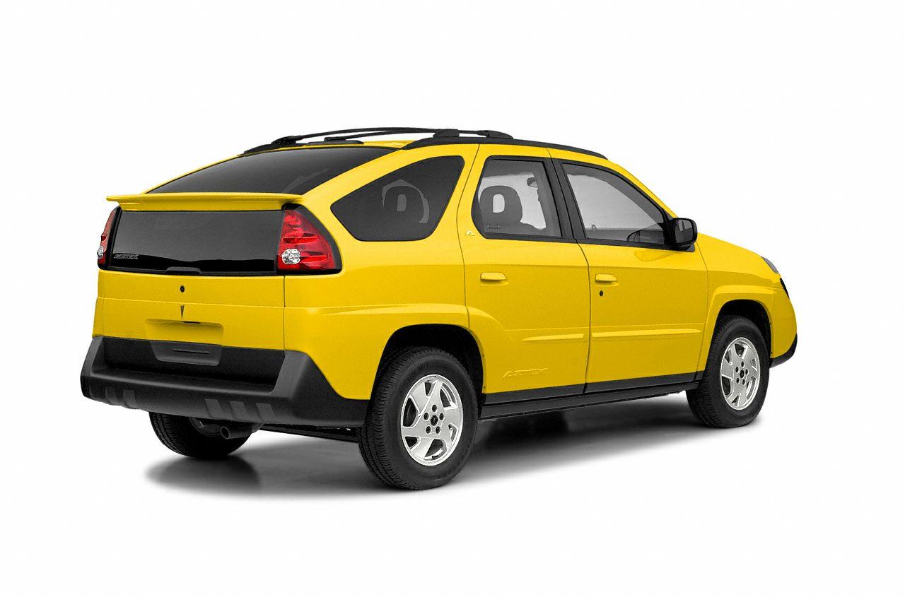 2003 Pontiac Aztek Base New Price CARFAX One-Owner Clean CARFAX Gray 2003 Pontiac Aztek FWD 34