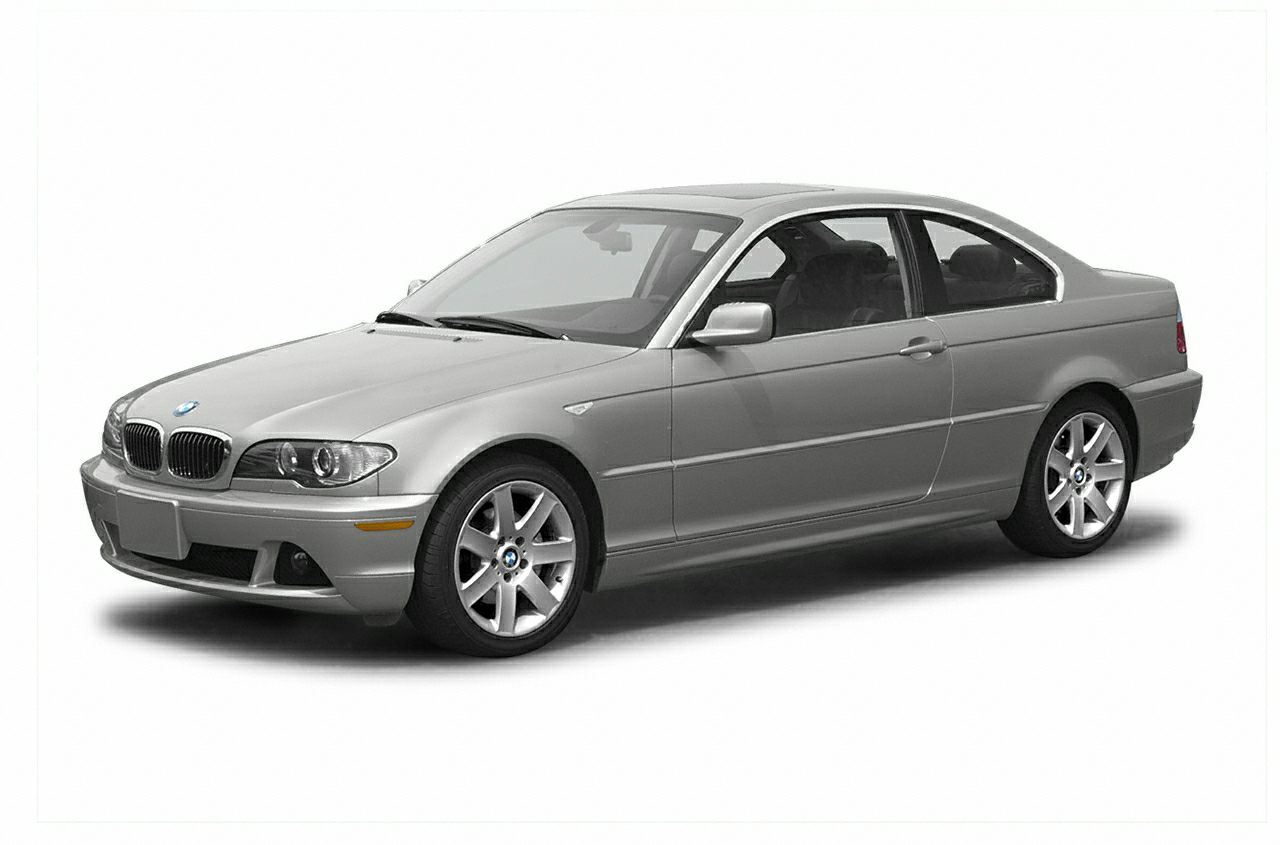 2004 BMW 3 Series 325Ci Miles 104150Color Gray Stock P1058A VIN WBABD33454JY97150