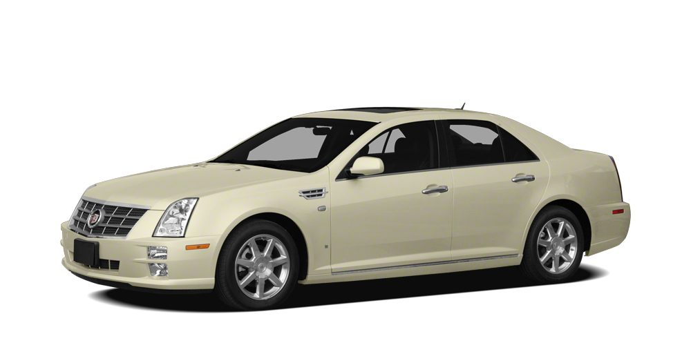 2010 Cadillac STS V6 2010 Cadillac STS Premium NAV Sunroof 6disc changer local trade-in with a