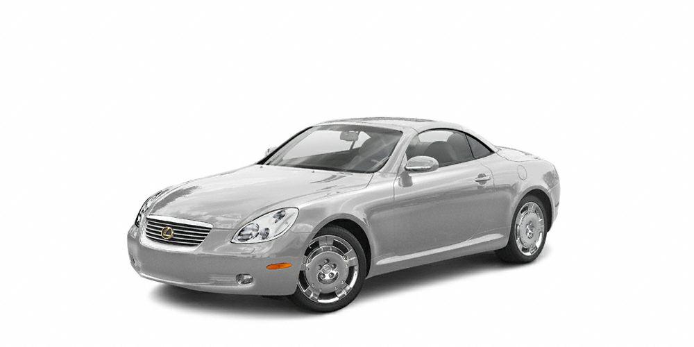 2004 Lexus SC 430 Base Miles 34408Color Silver Stock P1037 VIN JTHFN48Y640050936