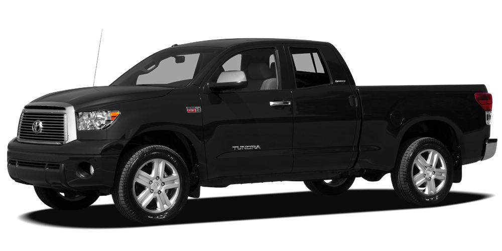 2011 Toyota Tundra Grade CARFAX 1-Owner LOW MILES - 19867 BLACK exterior and BLACK interior Hi