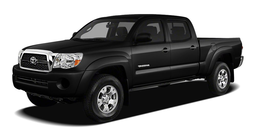 2011 Toyota Tacoma Base CARFAX 1-Owner ONLY 54305 Miles BLACK exterior and GRAPHITE interior J