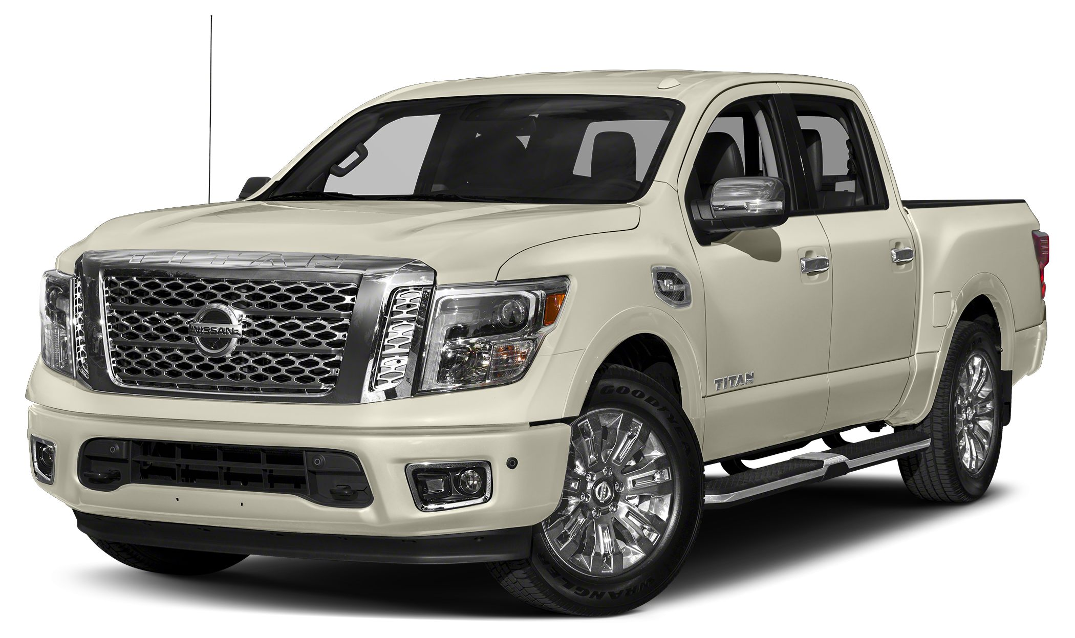 2017 Nissan Titan Platinum Reserve Miles 6879Color White Stock DU7170210 VIN 1N6AA1E66HN5185