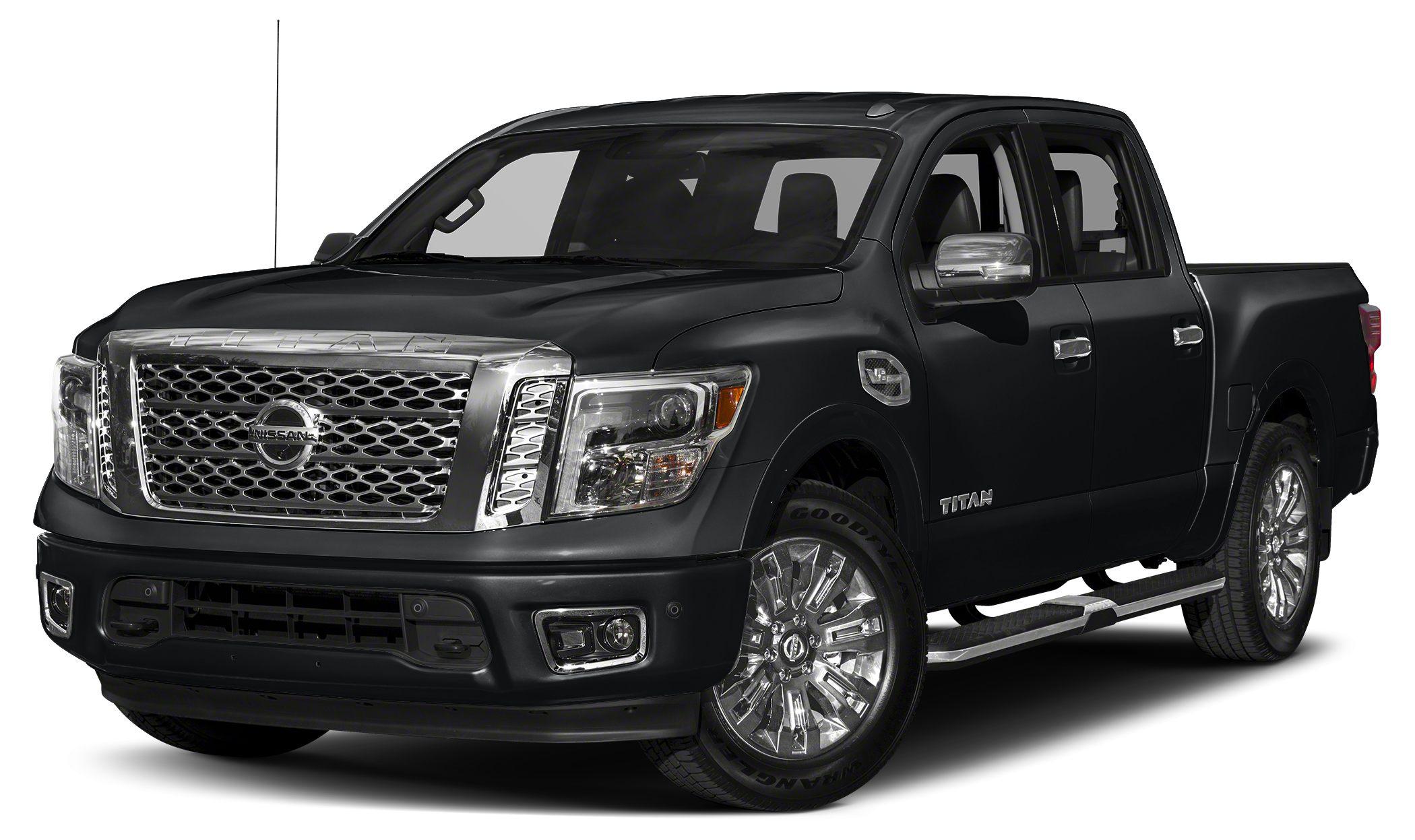 2018 Nissan Titan Platinum Reserve Miles 0Color Magnetic Black Stock BL3847 VIN 1N6AA1E59JN5