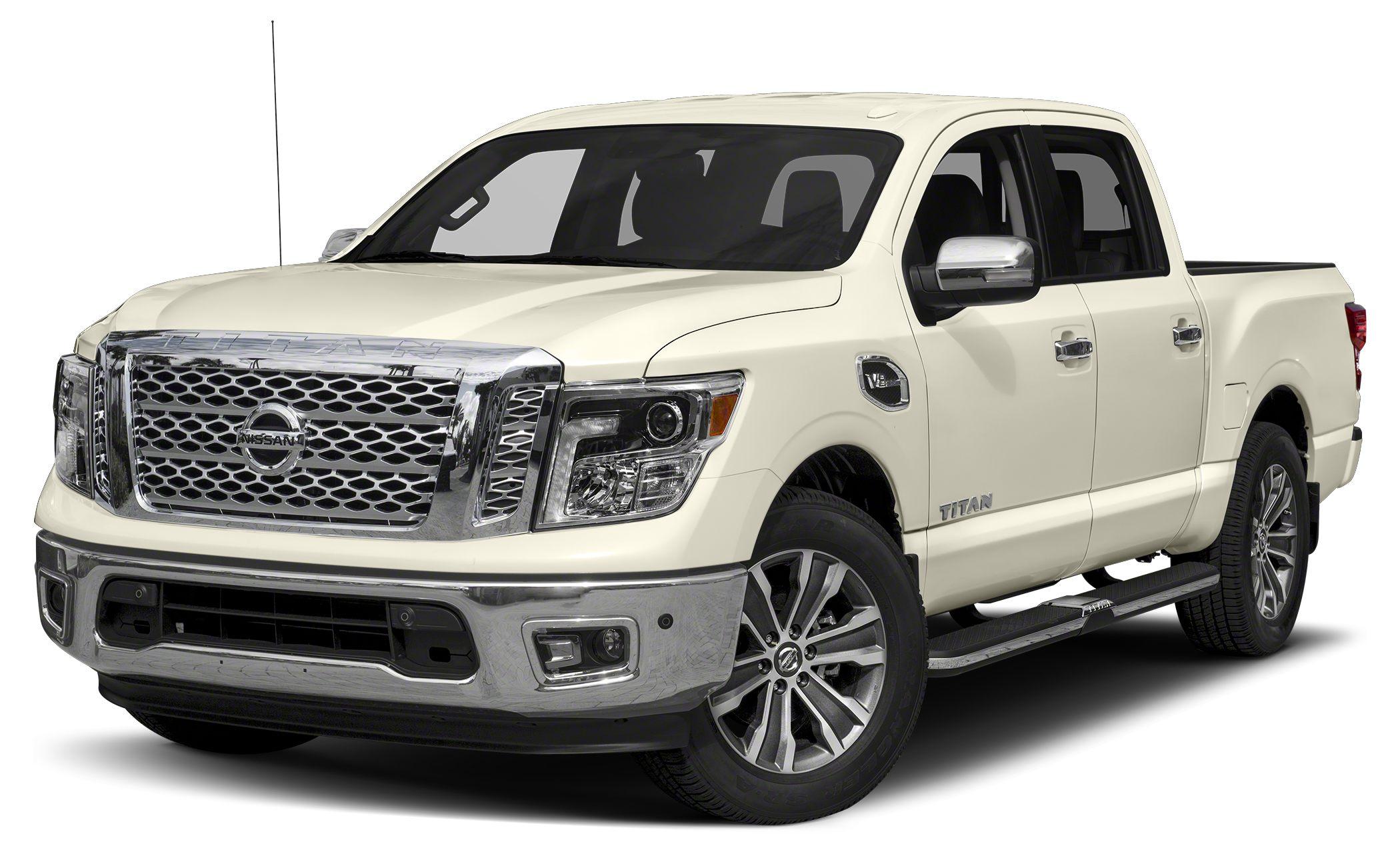 2017 Nissan Titan SL Miles 8Color White Stock 7170641 VIN 1N6AA1E52HN556740