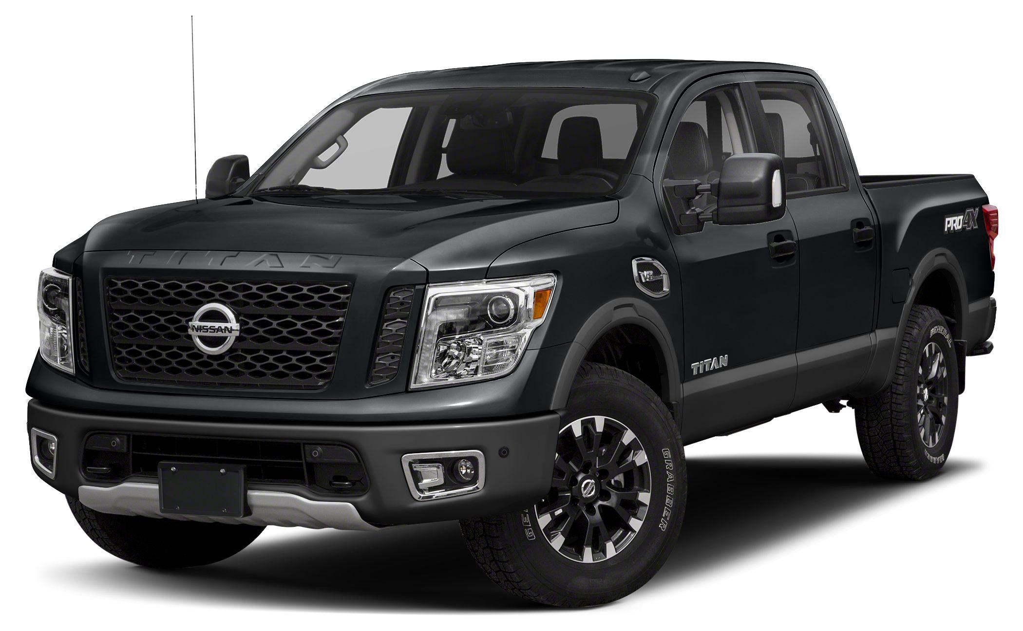 2017 Nissan Titan PRO-4X Navigation Bluetooth This 2017 Nissan Titan PRO-4X is Magnetic Black