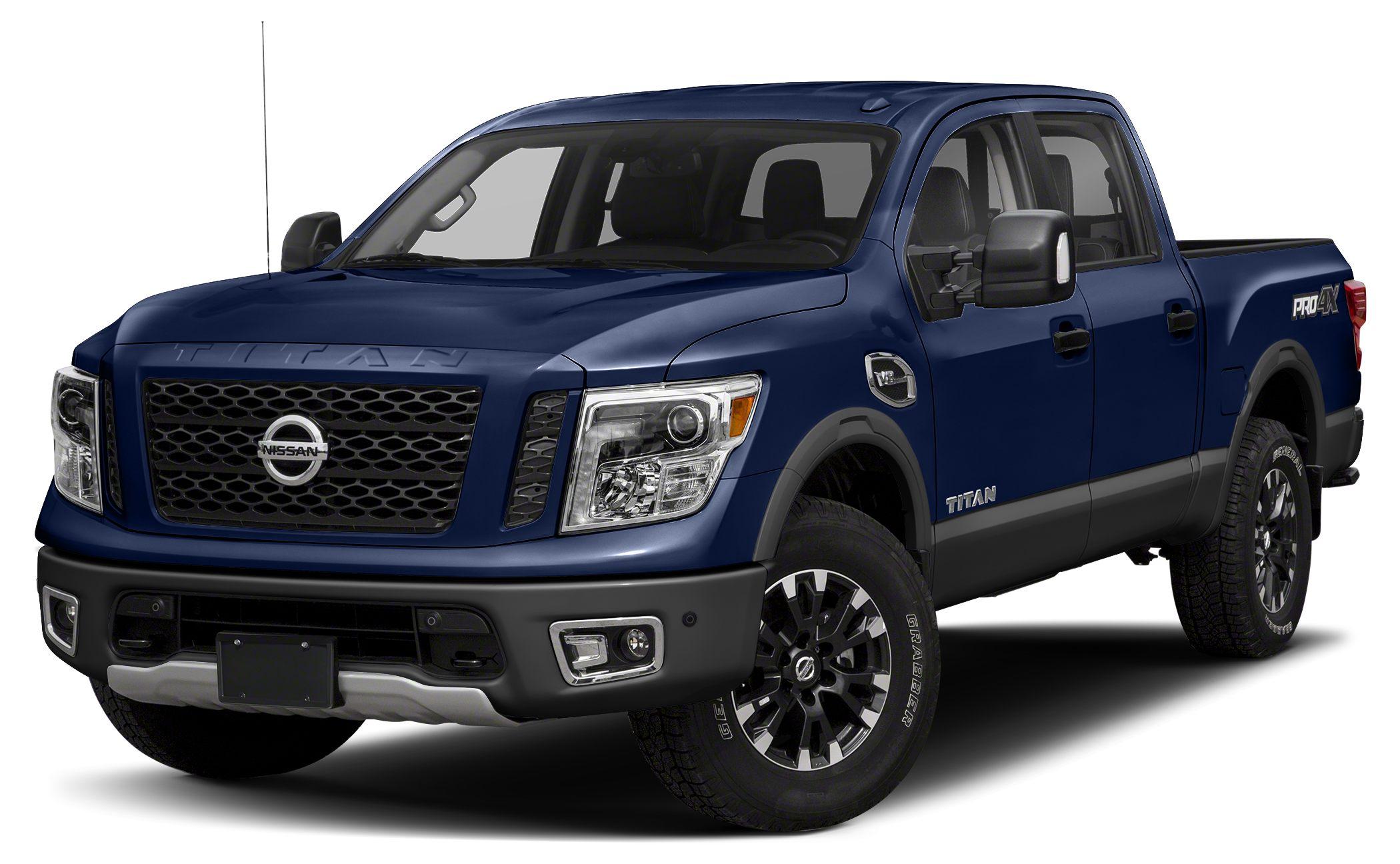 2017 Nissan Titan PRO-4X Miles 9Color Deep Blue Pearl Stock 17T264 VIN 1N6AA1E52HN549318