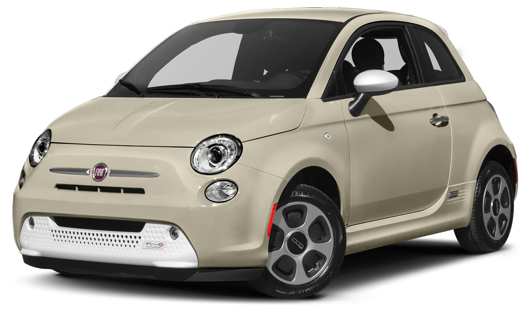 2014 FIAT 500e Battery Electric Miles 41745Color White Stock K17252A VIN 3C3CFFGE7ET172735