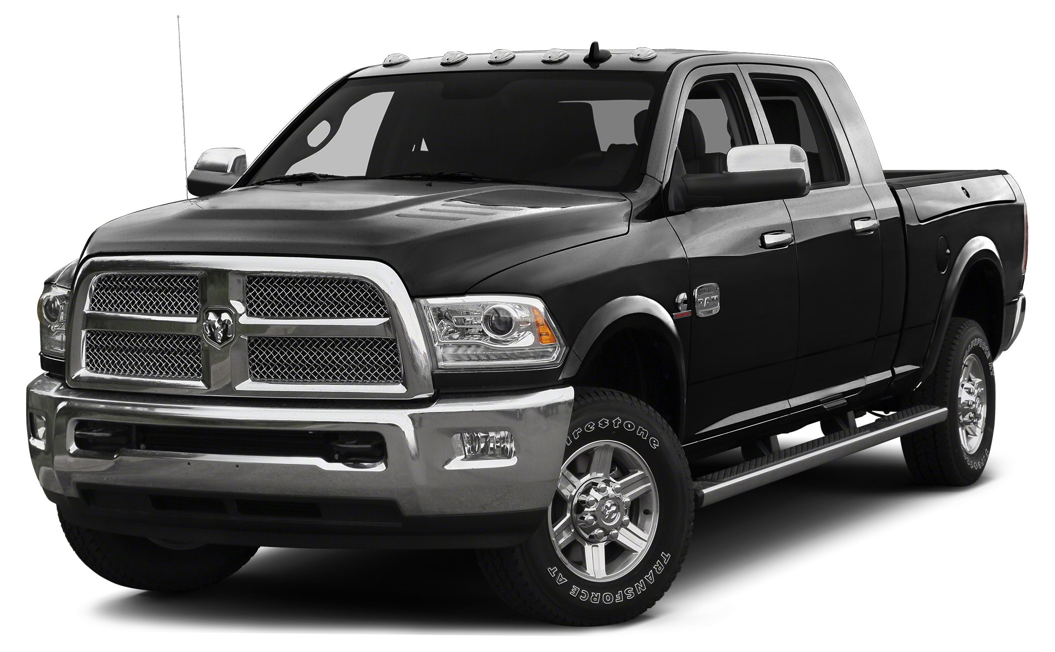 2014 RAM 2500 Longhorn Nav System HeatedCooled Seats Moonroof Bed Liner Hitch 4x4 Back-Up C