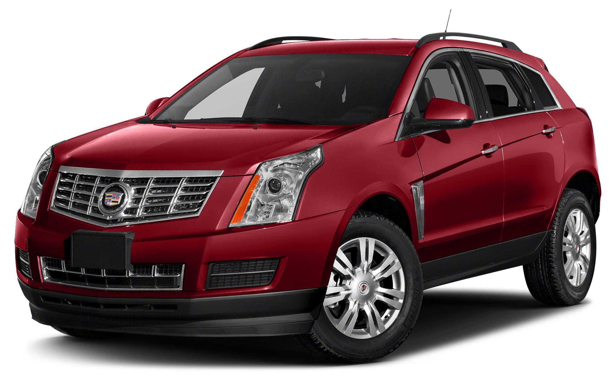 2015 Cadillac SRX Luxury Collection Miles 56425Color Red Stock SB15356A VIN 3GYFNBE31FS57724