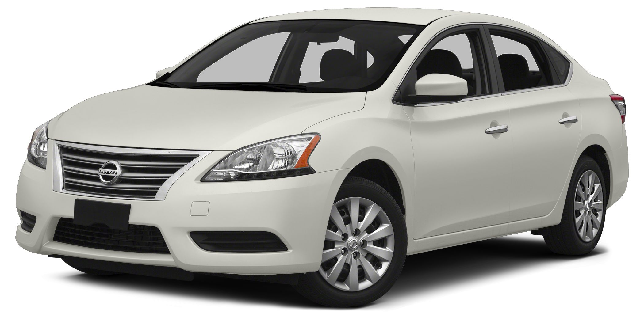 2015 Nissan Sentra SV White and White The Benton Nissan of Hoover EDGE Talk about a deal Wow W