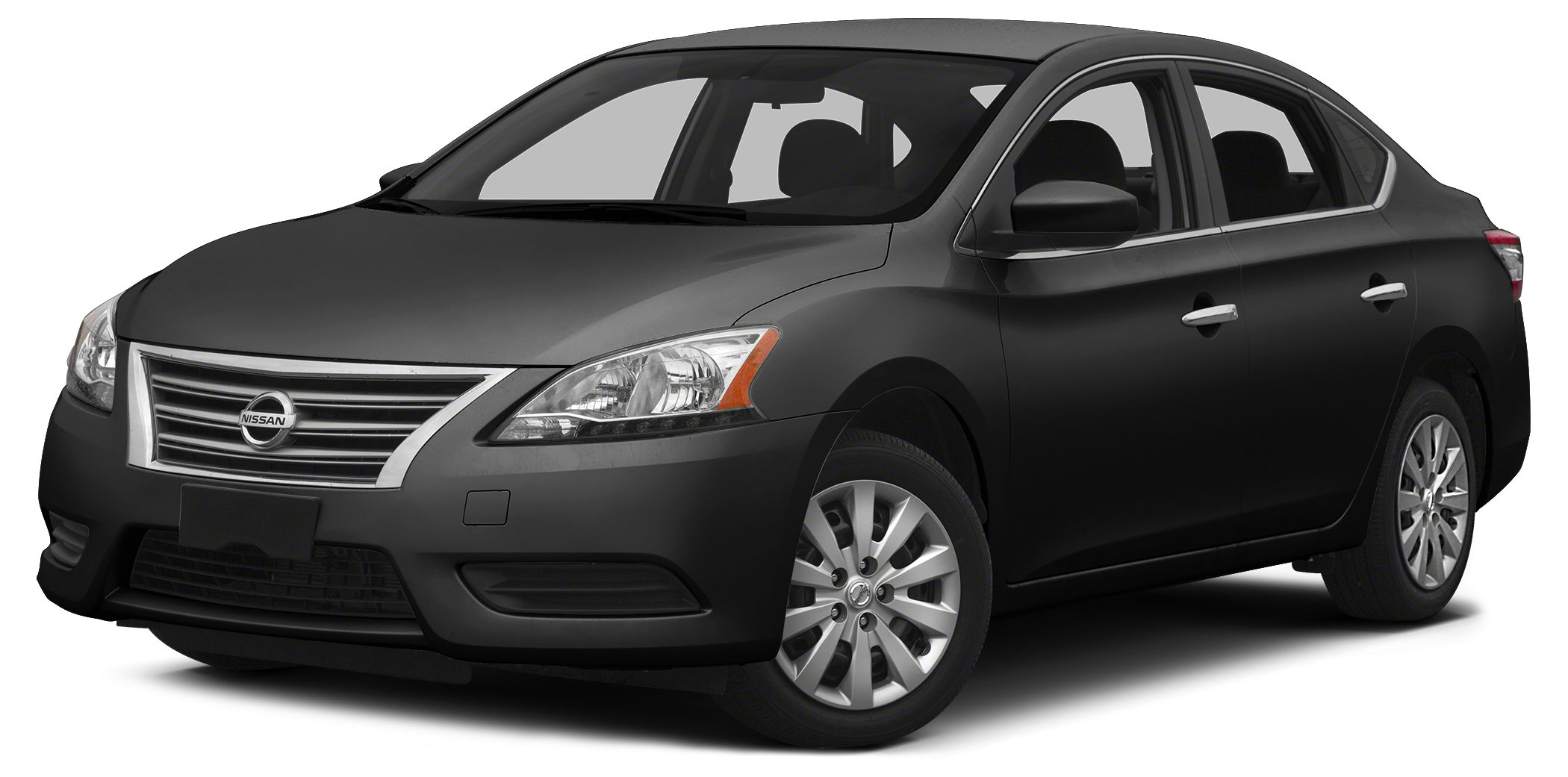 2014 Nissan Sentra SV CVT with Xtronic 3930 HighwayCity MPG Miles 69671Color Super Black St