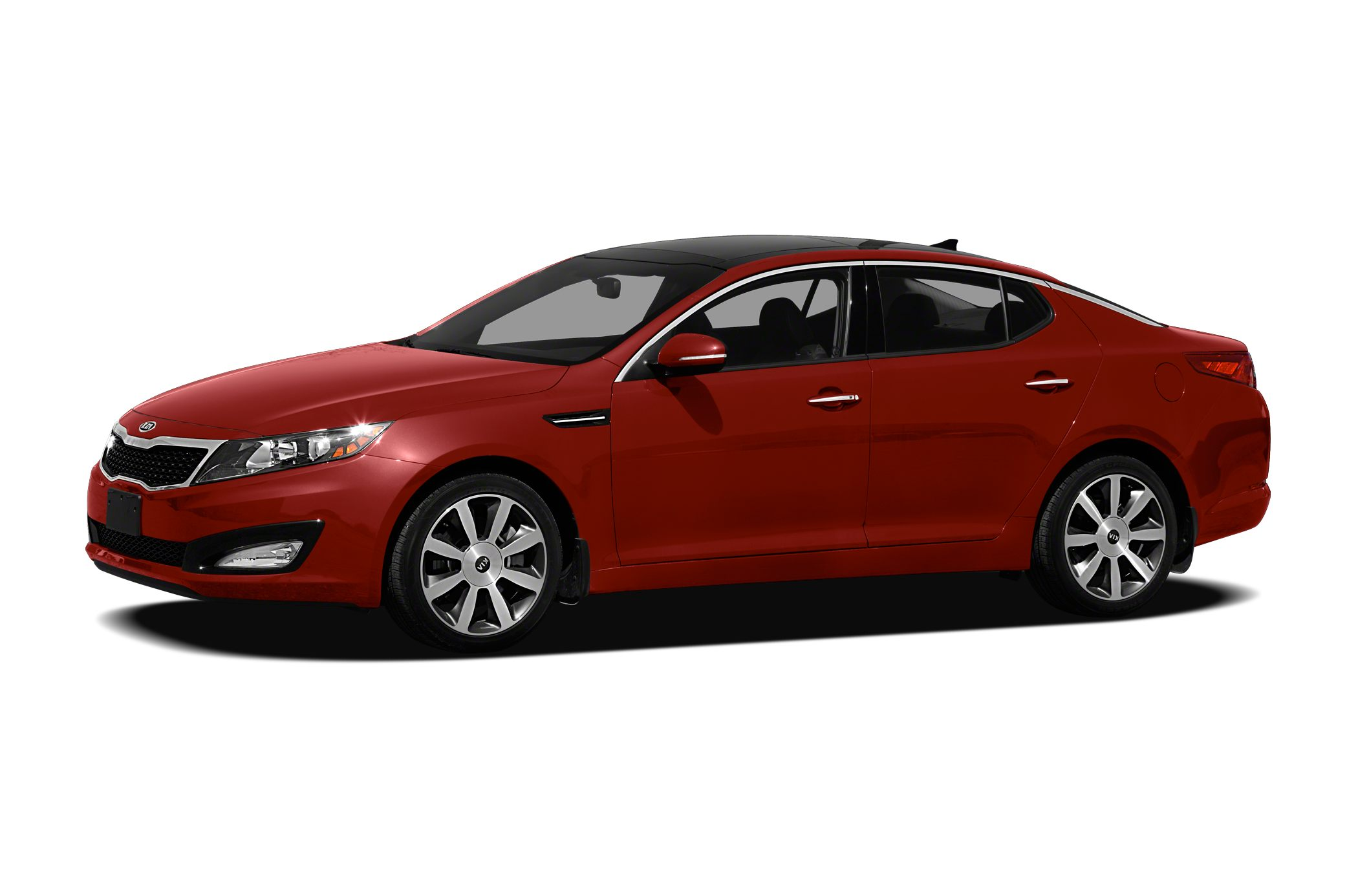 2011 Kia Optima LX Miles 122326Color Red Stock K16480A VIN KNAGM4A73B5129651