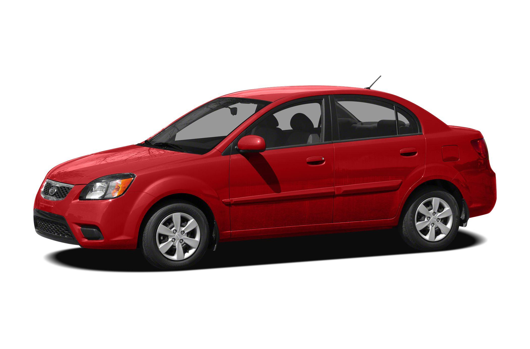 2011 Kia Rio EX Miles 114996Color Red Stock SB17120A VIN KNADH4A36B6914423