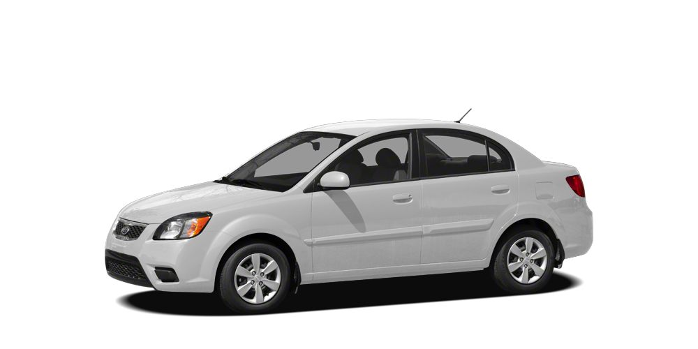 2011 Kia Rio LX BUY DIRECT-BUY BLUE BOOK 16-liter I-4  Automatic transmission w OD  MPG City