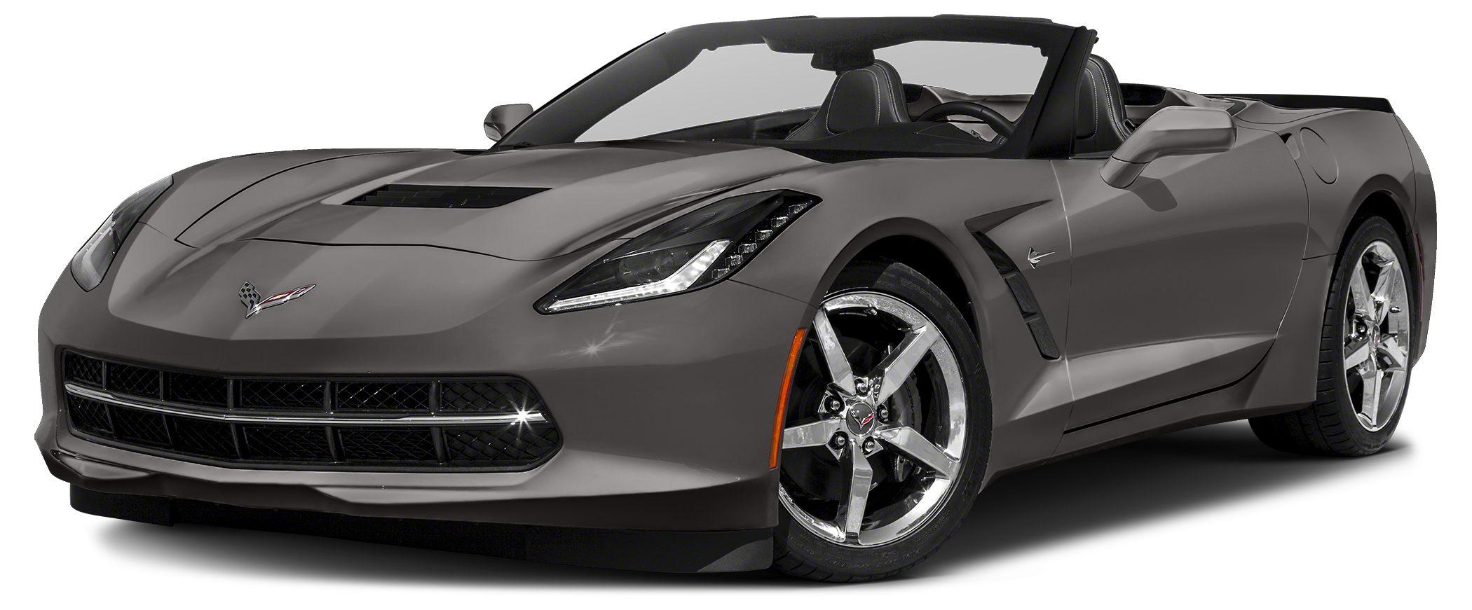 2015 Chevrolet Corvette Stingray Miles 25435Color Dark Gray Metallic Stock B4331 VIN 1G1YA3D