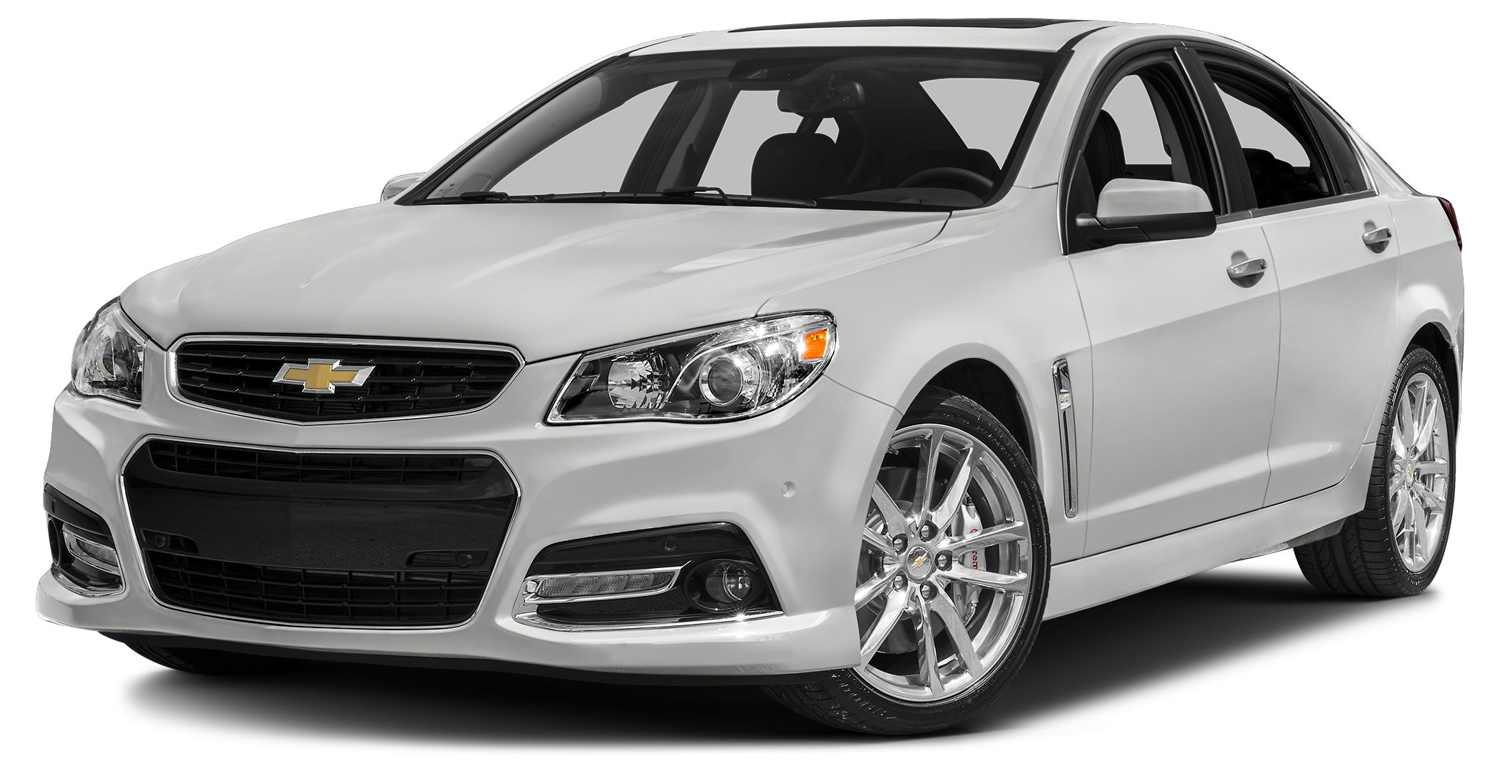 2015 Chevrolet SS Base Miles 17Color Heron White Stock 000C5408 VIN 6G3F15RWXFL112147
