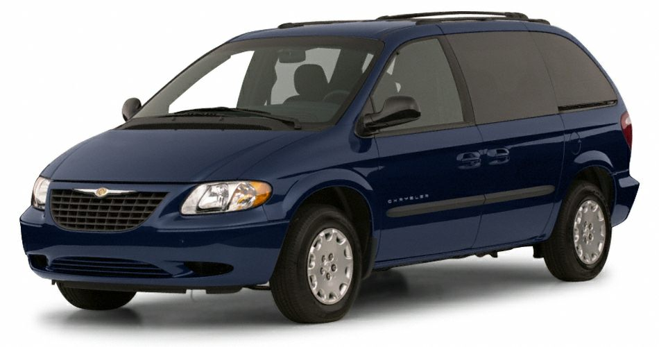 2001 Chrysler Voyager LX Miles 144101Color Blue Stock 5T630A VIN 1C4GJ45361B218018