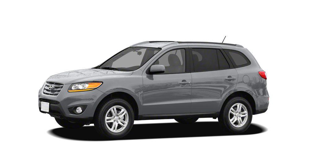 2011 Hyundai Santa Fe SE ONE OWNER and Clean Carfax Santa Fe SE 4D Sport Utility 35L V6 DO