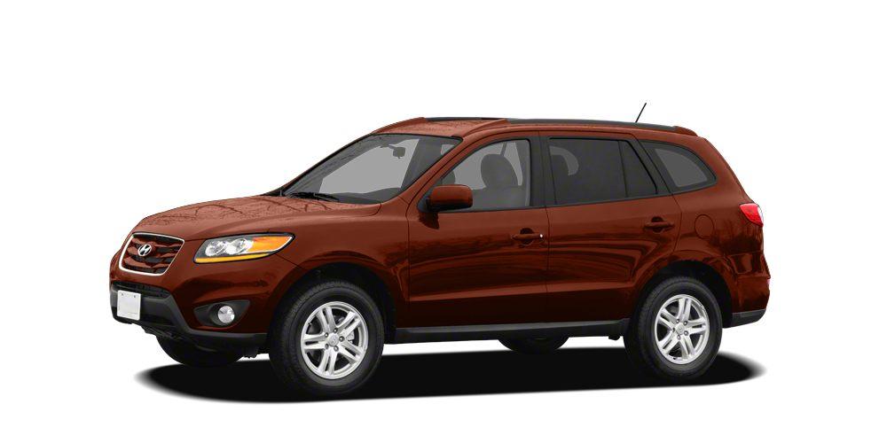 2011 Hyundai Santa Fe GLS Miles 52253Color Sonoran Red Stock BG044106 VIN 5XYZG3AB1BG044106