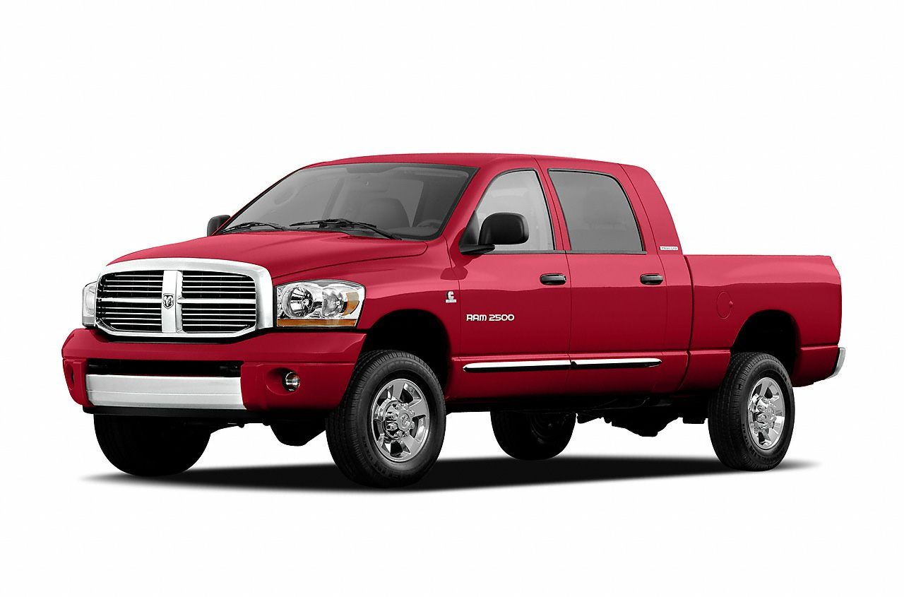 2006 Dodge Ram 2500 Laramie Excellent Condition Flame Red exterior and Dark Slate Gray interior