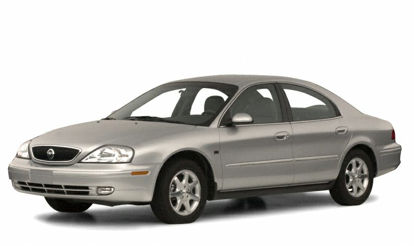 2001 Mercury Sable LS Premium Miles 50483Color Gray Stock NN0494A VIN 1MEFM55S71A650685