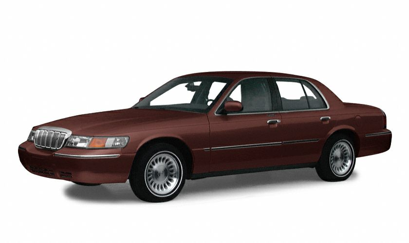 2001 Mercury Grand Marquis GS Miles 45968Color Chestnut Clearcoat Metallic Stock 150698A VIN