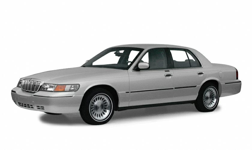 2001 Mercury Grand Marquis GS Miles 56758Color Silver Frost Clearcoat Metallic Stock P10357 V