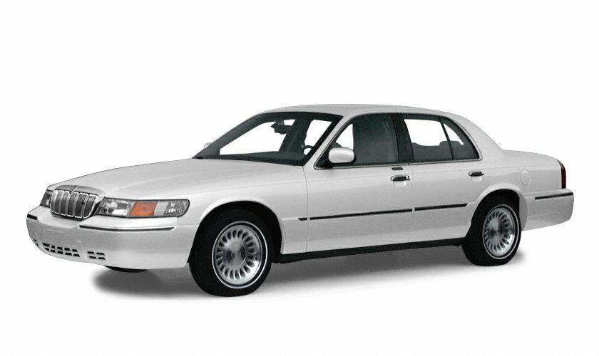 2001 Mercury Grand Marquis LS Miles 189854Color Vibrant White Clearcoat Stock 151275B VIN 2M