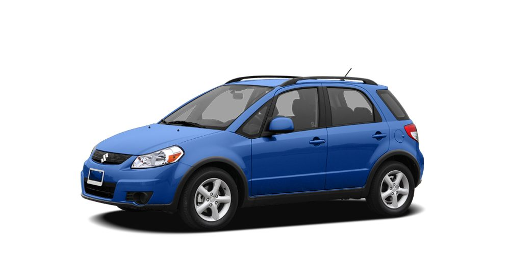 2007 Suzuki SX4  Wow What a sweetheart All Wheel Drive How sweet is the gas mileage of this han