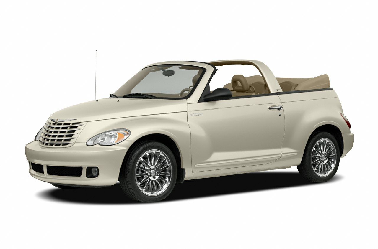 2007 Chrysler PT Cruiser Touring 24L 4-Cylinder DOHC 16V Turbocharged ONE OWNER CONVERTIBLE AN