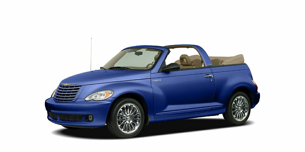 2007 Chrysler PT Cruiser Touring Miles 116720Color Marine Blue Pearlcoat  Black Cloth Top Stoc