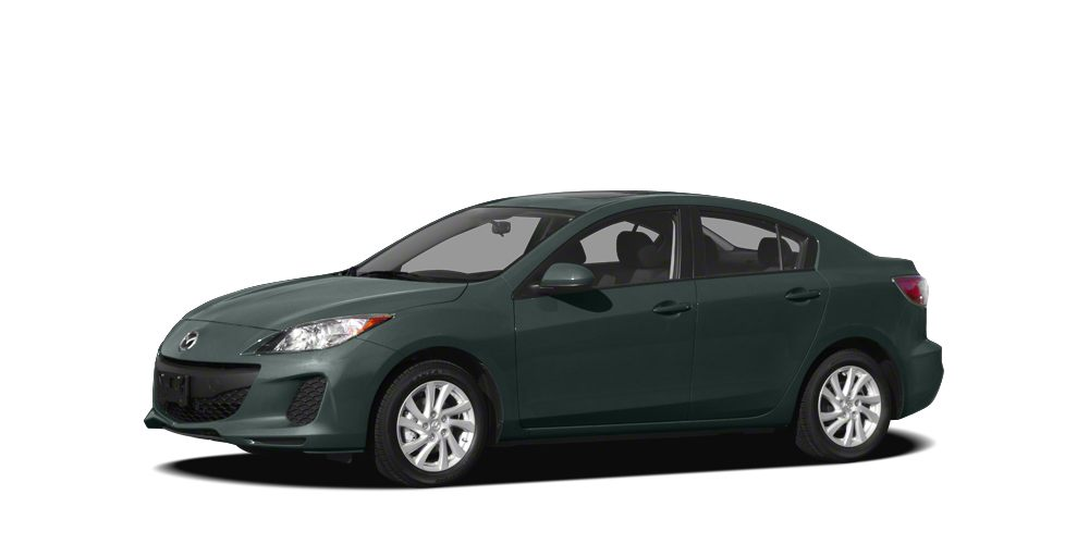 2012 Mazda MAZDA3 i Sport Clean CARFAX 1 Owner - Manual Transmission - Power Windows - Low Miles -
