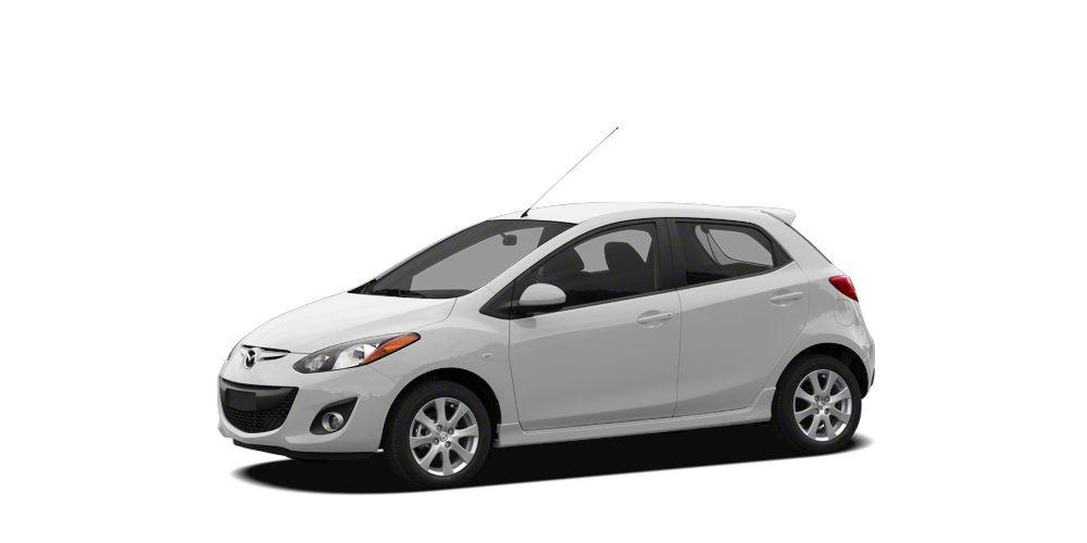 2012 Mazda MAZDA2 Sport Miles 35822Color Crystal White Pearl Stock ZP139349 VIN JM1DE1KY0C01