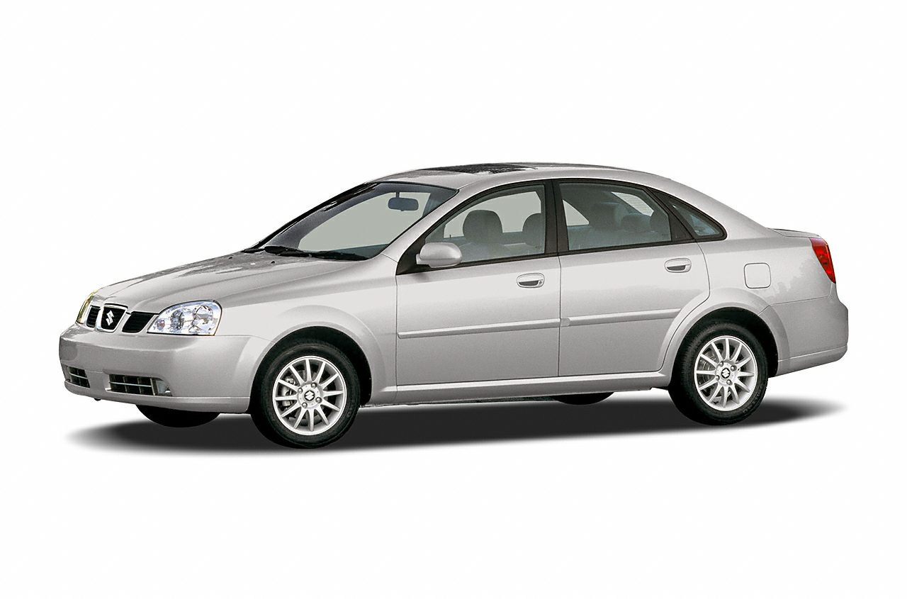 2005 Suzuki Forenza  Clean Autocheck Moonroof and Alloy Wheels 20L 4-Cylinder 16V DOHC and Titan