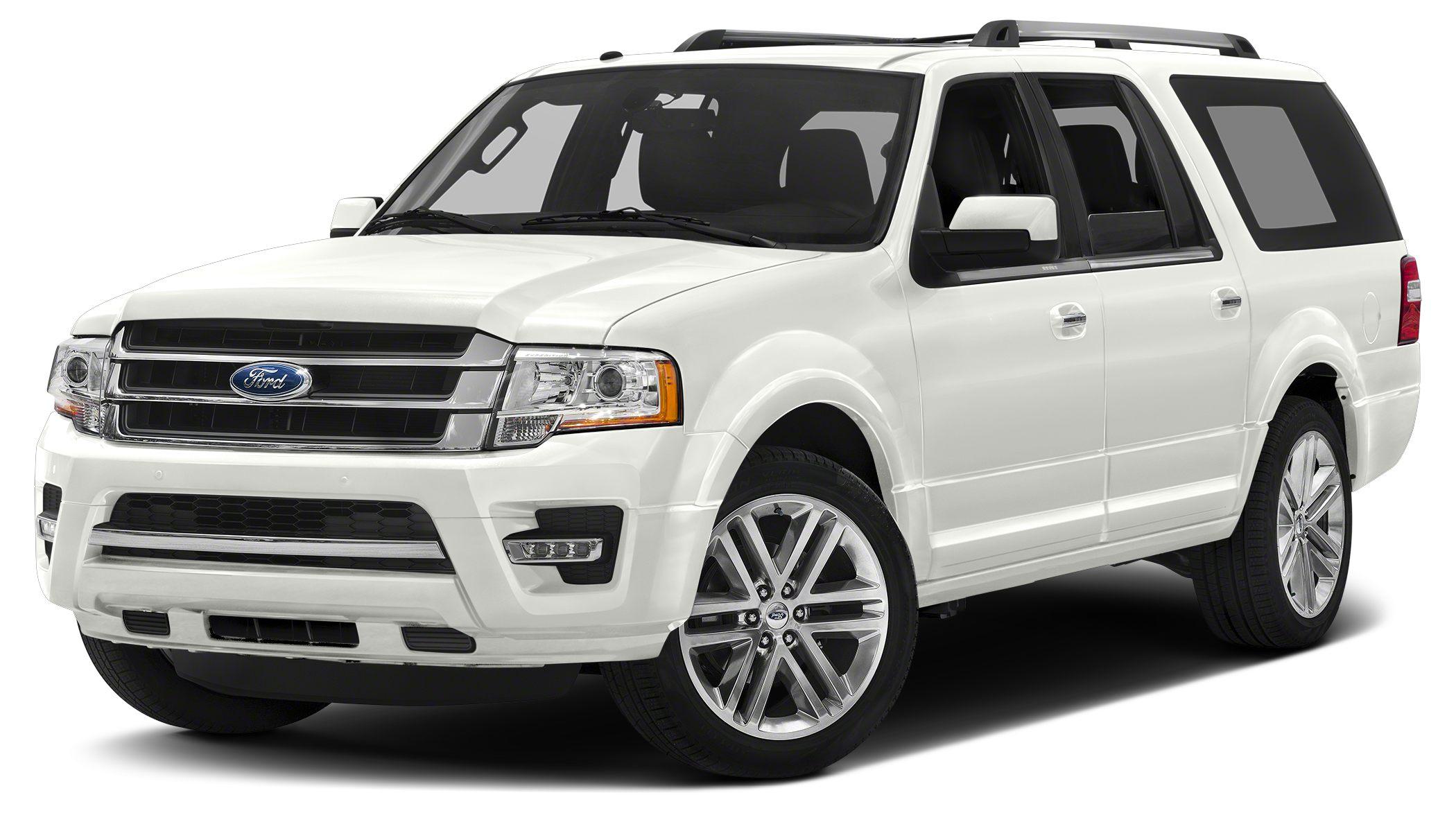 2017 Ford Expedition EL Limited Miles 8Color White Platinum Metallic Tri-Coat Stock 170311 VI