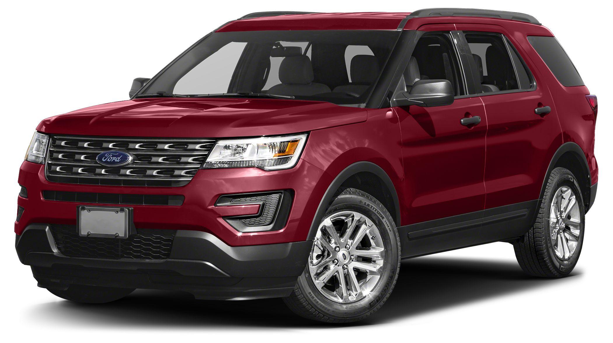 2017 Ford Explorer Base 2017 Ford Explorer Base 2719 HighwayCity MPGPrice includes 1500 - RET