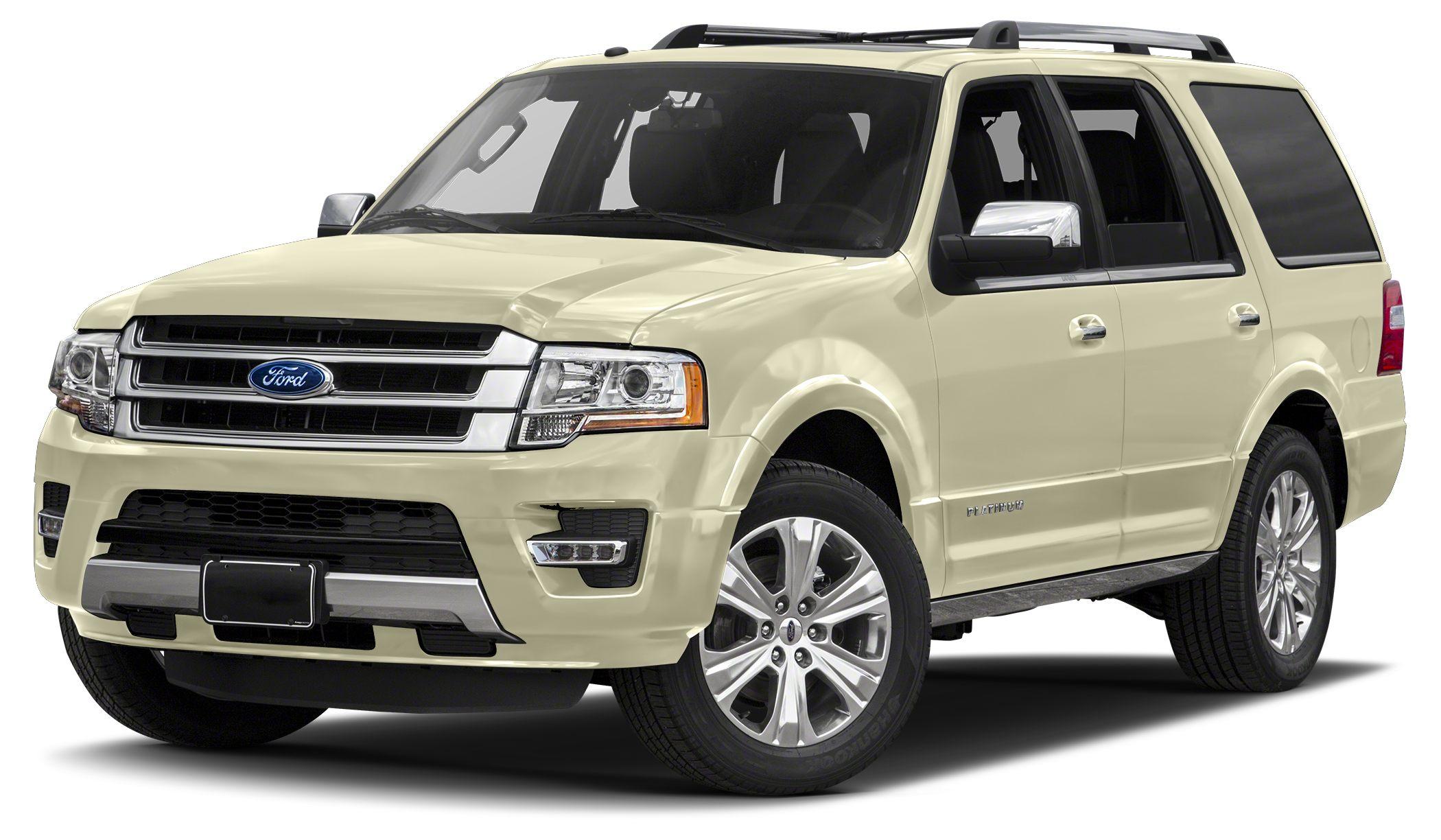 2017 Ford Expedition Platinum 2017 Ford Expedition Platinum 35L V6 Adaptive suspension Blind Sp