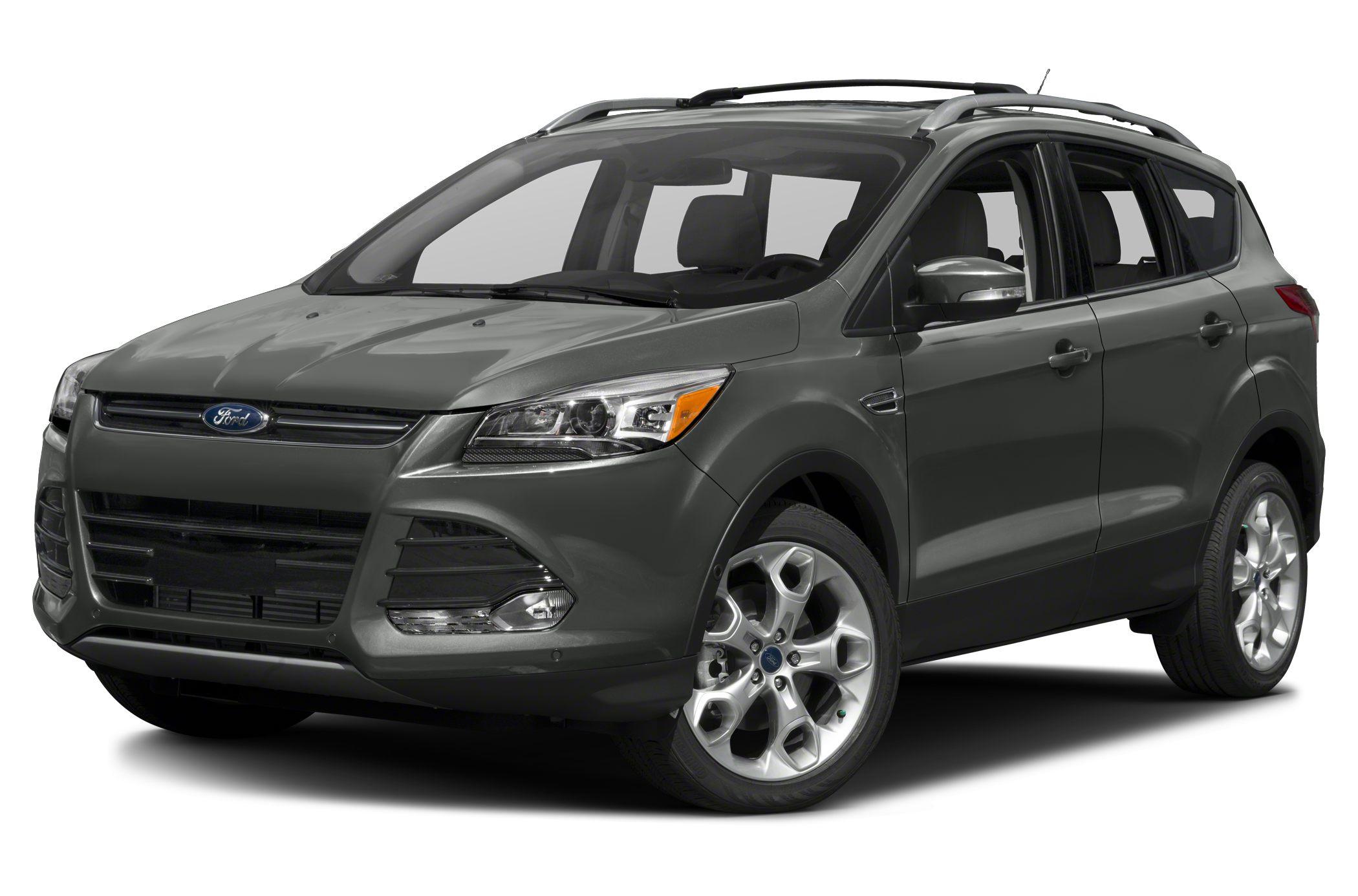 2016 Ford Escape Titanium Color White Stock 18209 VIN 1FMCU9J99GUB18209