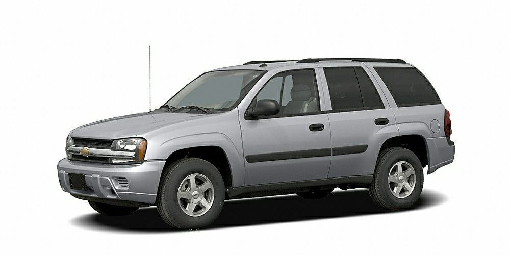 2006 Chevrolet TrailBlazer LS This Silver 2006 Chevrolet TrailBlazer LS might be just the SUV for